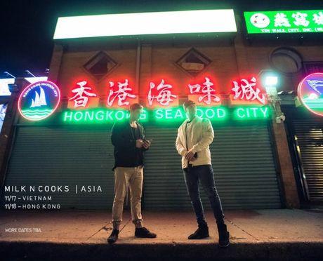 Bo doi DJ dep trai da tai Milk N Cooks toi Ha Noi bieu dien - Anh 2