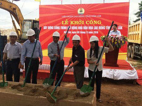 Dak Lak: Khoi cong cong trinh mo rong Nha Van hoa Lao dong tinh - Anh 2