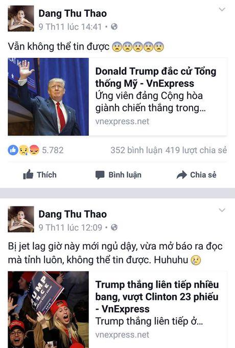 Sao Viet xon xao khi ong Donald Trump dac cu Tong thong My - Anh 2