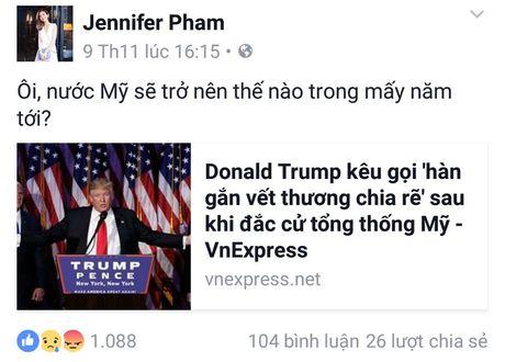 Sao Viet xon xao khi ong Donald Trump dac cu Tong thong My - Anh 3