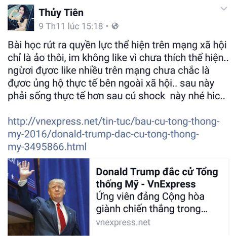 Sao Viet xon xao khi ong Donald Trump dac cu Tong thong My - Anh 6