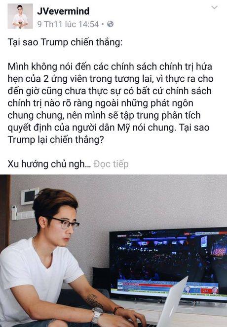 Sao Viet xon xao khi ong Donald Trump dac cu Tong thong My - Anh 8