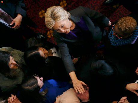 Hillary Clinton: 'Noi dau nay se con dai dang' - Anh 3