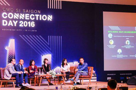 Khai mac hoi thao cong nghe CMC SI Saigon Connection Day 2016 - Anh 1
