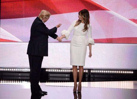 Nhung khoanh khac xinh dep cua Melania Trump trong chien dich tranh cu - Anh 1