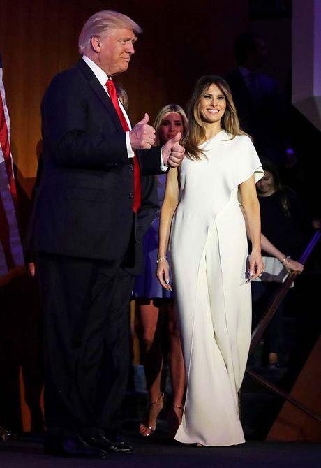Nhung khoanh khac xinh dep cua Melania Trump trong chien dich tranh cu - Anh 2