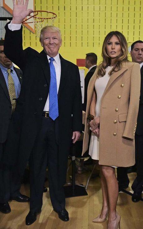 Nhung khoanh khac xinh dep cua Melania Trump trong chien dich tranh cu - Anh 3