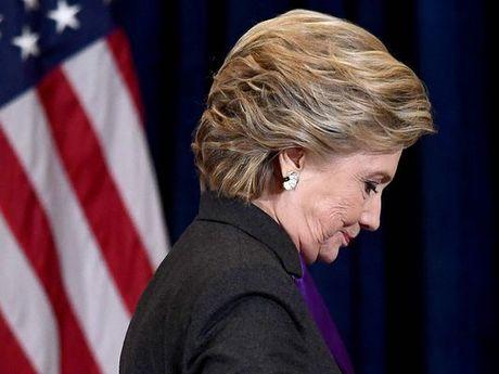 Hillary Clinton dien van xuc dong, chap nhan that bai - Anh 2