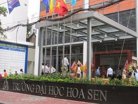 Truong DH Hoa Sen phan hoi quyet dinh cua UBND TP.HCM - Anh 1