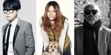 Lee Hyori va dan sao hat ve be boi tong thong Han - Anh 1