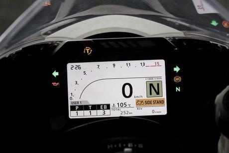 Honda trinh lang sieu moto CBR1000RR 2017 ban tieu chuan - Anh 8