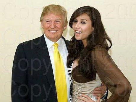 Sieu mau Viet bat ngo khoe anh chup cung Tan Tong thong Donald Trump - Anh 1