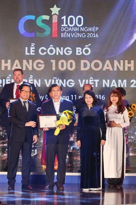 FrieslandCampina Viet Nam lot top 10 doanh nghiep phat trien ben vung - Anh 1