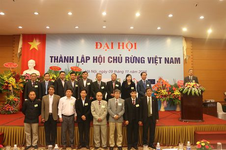 Thanh lap Hoi Chu rung Viet Nam - Anh 1