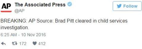 Canh sat da co ket luan vu Brad Pitt bao hanh con - Anh 1