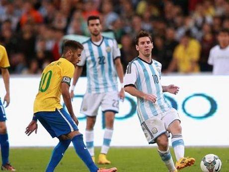 Brazil - Argentina: Tran dau song con cua Messi va dong doi - Anh 1