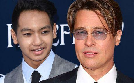 Brad Pitt thoat an danh con trai Maddox tren may bay - Anh 1