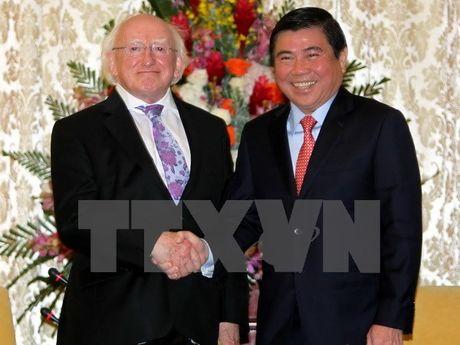 TP.HCM mong muon doanh nghiep Ireland tang cuong dau tu - Anh 1