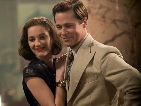 Brad Pitt cuoi guong gao trong ngay ra mat phim - Anh 4