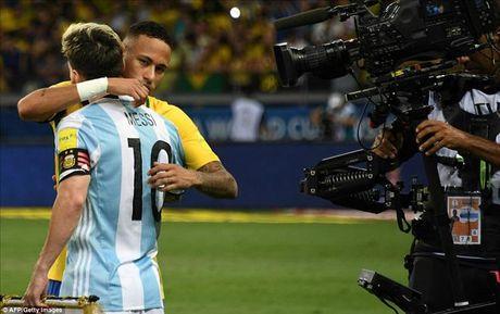 Bat luc nhin Argentina tham bai truoc Brazil, Messi noi gi? - Anh 1