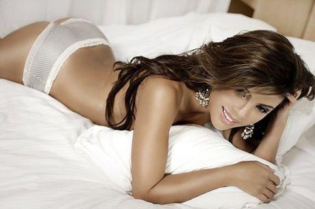Mirella Grisales - nu MC Colombia khoe than nong bong - Anh 9