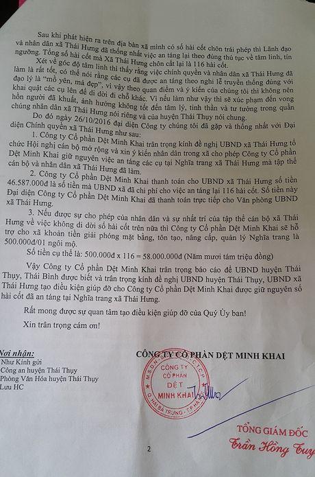 Ai dem hang tram hai cot tu Ha Noi chon trai phep o Thai Binh? - Anh 5