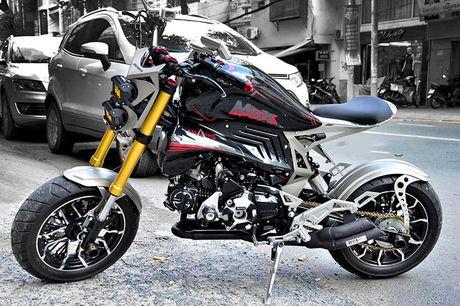 Honda MSX 'lot xac' phong cach cao boi mien Tay - Anh 2