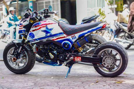 Honda MSX 'lot xac' phong cach cao boi mien Tay - Anh 3