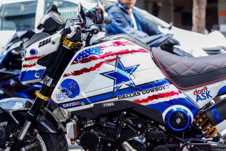 Honda MSX 'lot xac' phong cach cao boi mien Tay - Anh 4