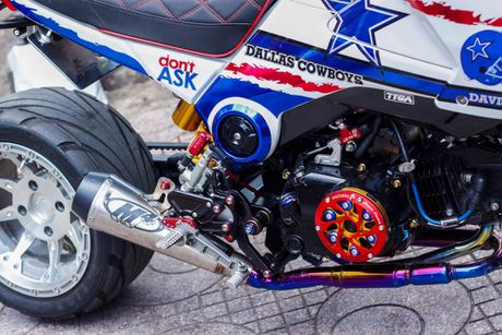 Honda MSX 'lot xac' phong cach cao boi mien Tay - Anh 5