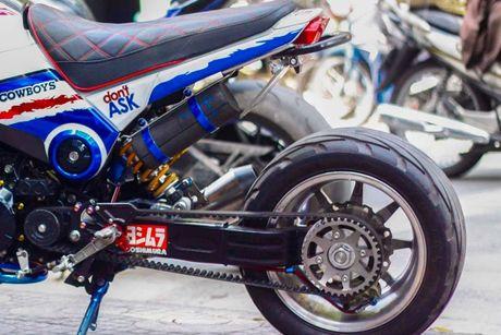 Honda MSX 'lot xac' phong cach cao boi mien Tay - Anh 7