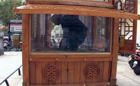 Sieu xe go co mot khong hai tren duong pho Trung Quoc - Anh 3