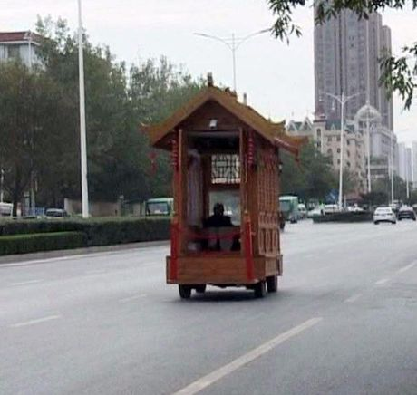 Sieu xe go co mot khong hai tren duong pho Trung Quoc - Anh 4