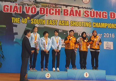 31 ky luc duoc thiet lap tai Giai vo dich Ban sung Dong Nam A - Anh 1
