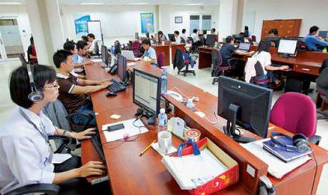 Tong cuc Thue dan dau xep hang ICT index nganh Tai chinh 2016 - Anh 1