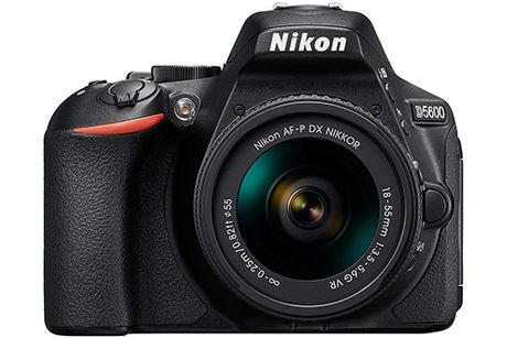 DSLR tam trung Nikon D5600 xuat hien, di kem Bluetooth - Anh 1