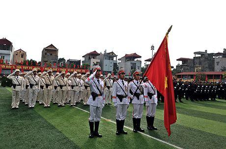 Truong Trung cap Canh sat vu trang Khai giang nam hoc moi - Anh 8
