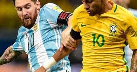 "Clip Brazil dau Argentina: Ngay Neymar ""che mo"" Messi - Anh 1"