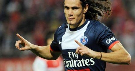 Ban thang dep vong 12 Ligue 1: Cavani chop thoi co - Anh 1