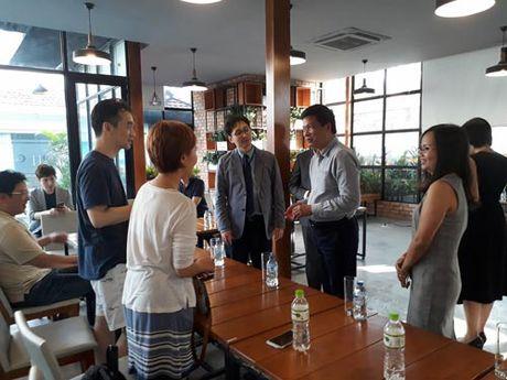 Dai dien Saigon Innovation Hub gap go 34 doanh nghiep Han Quoc - Anh 1