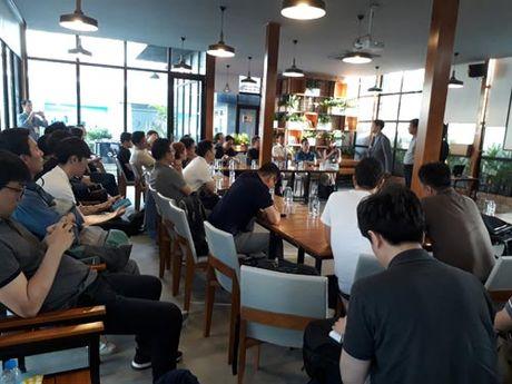 Dai dien Saigon Innovation Hub gap go 34 doanh nghiep Han Quoc - Anh 2