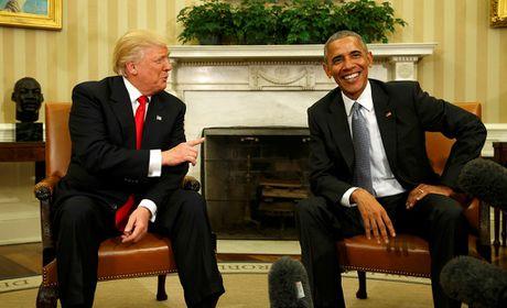 Ong Donald Trump lan dau gap ong Obama tai Nha Trang - Anh 1