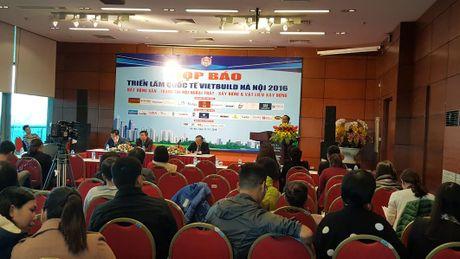 Vietbuild Ha Noi 2016 lan 3 se thu hut 1.350 gian hang - Anh 1