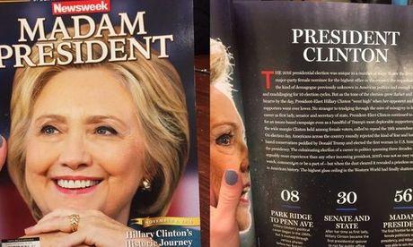 Tap chi My thu hoi 125.000 an pham vi du doan Hillary thang - Anh 1