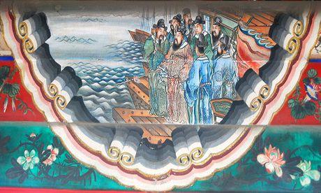 Khai quat co mo nghi la hoang hau cua chau trai Tao Thao - Anh 1