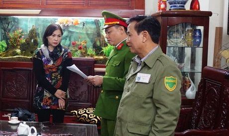Ha Noi: Khoi to nu Giam doc cong ty khai thac cat trai phep gay thiet hai hon 8 ty dong - Anh 2