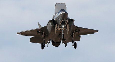 Phi cong My thao lap may bay F-35B ngay tren bien - Anh 1