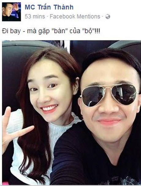 Tran Thanh dang anh vui ve voi Nha Phuong, fan lo lang canh bao Truong Giang - Anh 3