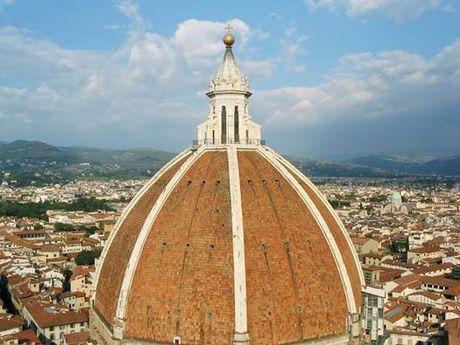 Mai vom nha tho Santa Maria del Fiore- Cong trinh kien truc vi dai - Anh 1