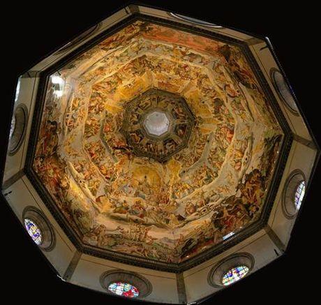 Mai vom nha tho Santa Maria del Fiore- Cong trinh kien truc vi dai - Anh 4